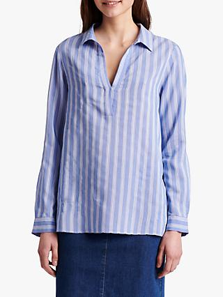 Gerard Darel Natcha Striped Blouse, Blue