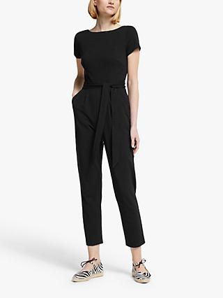 Boden Tia Scoop Jumpsuit, Black