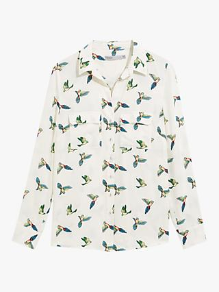 Oasis Bird Print Shirt, Multi