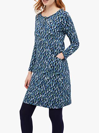 White Stuff Pitter Jersey Dress, Navy