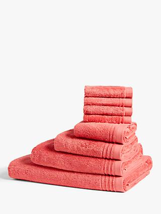 John Lewis & Partners Summer Lightweight Cotton Towels
