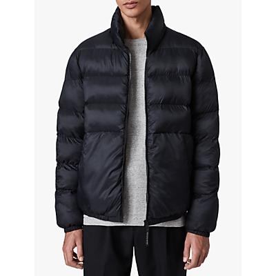 AllSaints Bramham Puffer Jacket, Dark Ink