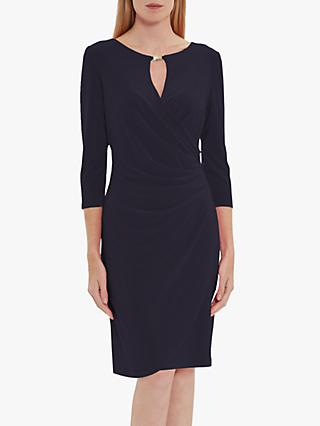 Gina Bacconi Brooke Jersey Wrap Dress