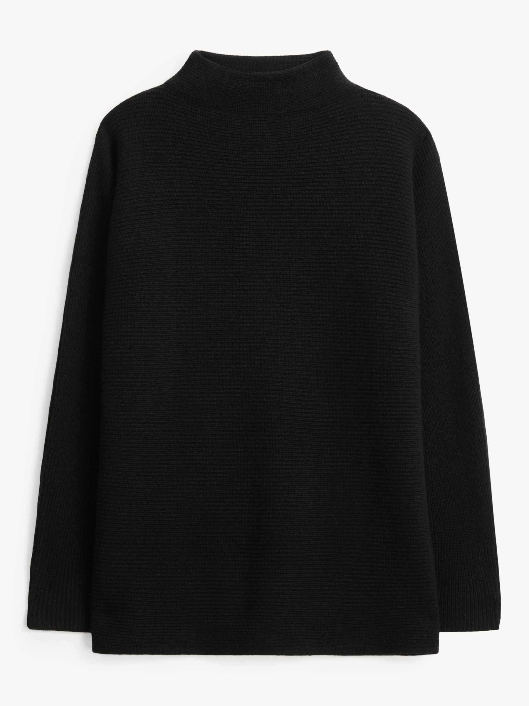 John Lewis & Partners Cashmere Funnel Neck Jumper