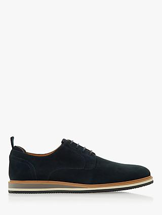 Dune Bucatini Nubuck Wedge Sole Lace Up Shoes