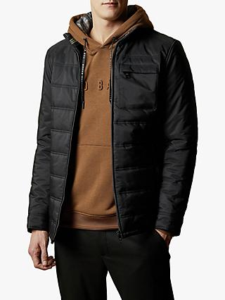 Ted Baker Narddog Quilted Jacket, Black