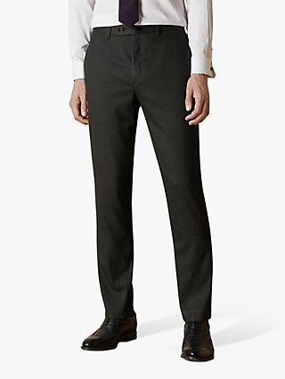 Ted Baker Beeztro Suit Trousers, Charcoal