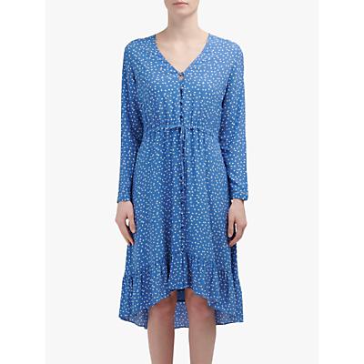Rails Jade Floral Print Midi Dress, Blue Wisteria
