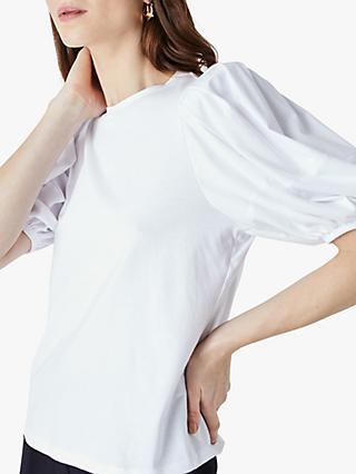 Finery Mabel Puff Sleeve T-Shirt
