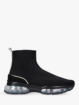 Carvela Link Air Bubble Sock High Top Trainers, Black