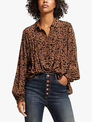 AND/OR Elsie Bicolour Blouse