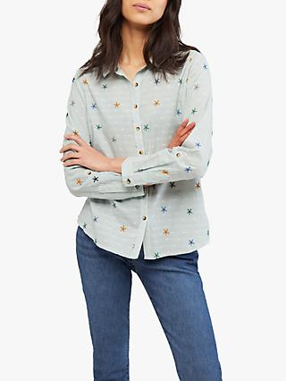 White Stuff Sweet Melody Shirt, Green