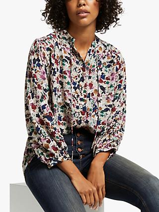 AND/OR Arabella Floral Blouse, Multi