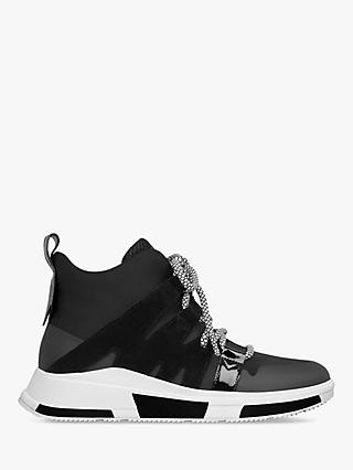 FitFlop Carita High Top Trainers, Black
