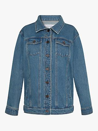 Gerard Darel Aurelia Denim Jacket, Blue