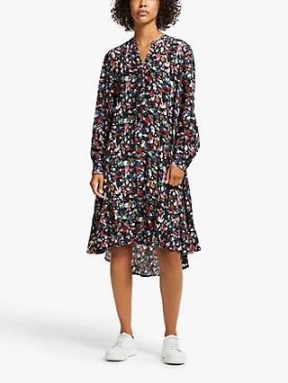 AND/OR Fifi Floral Shirt Dress, Multi