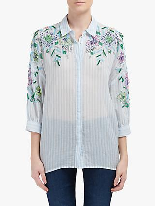Essentiel Antwerp Rancher Cotton Top, Trinidad Blue