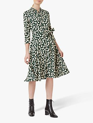 Hobbs Alex Dress, Green Stone