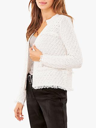 Pure Collection Knitted Jacket, White