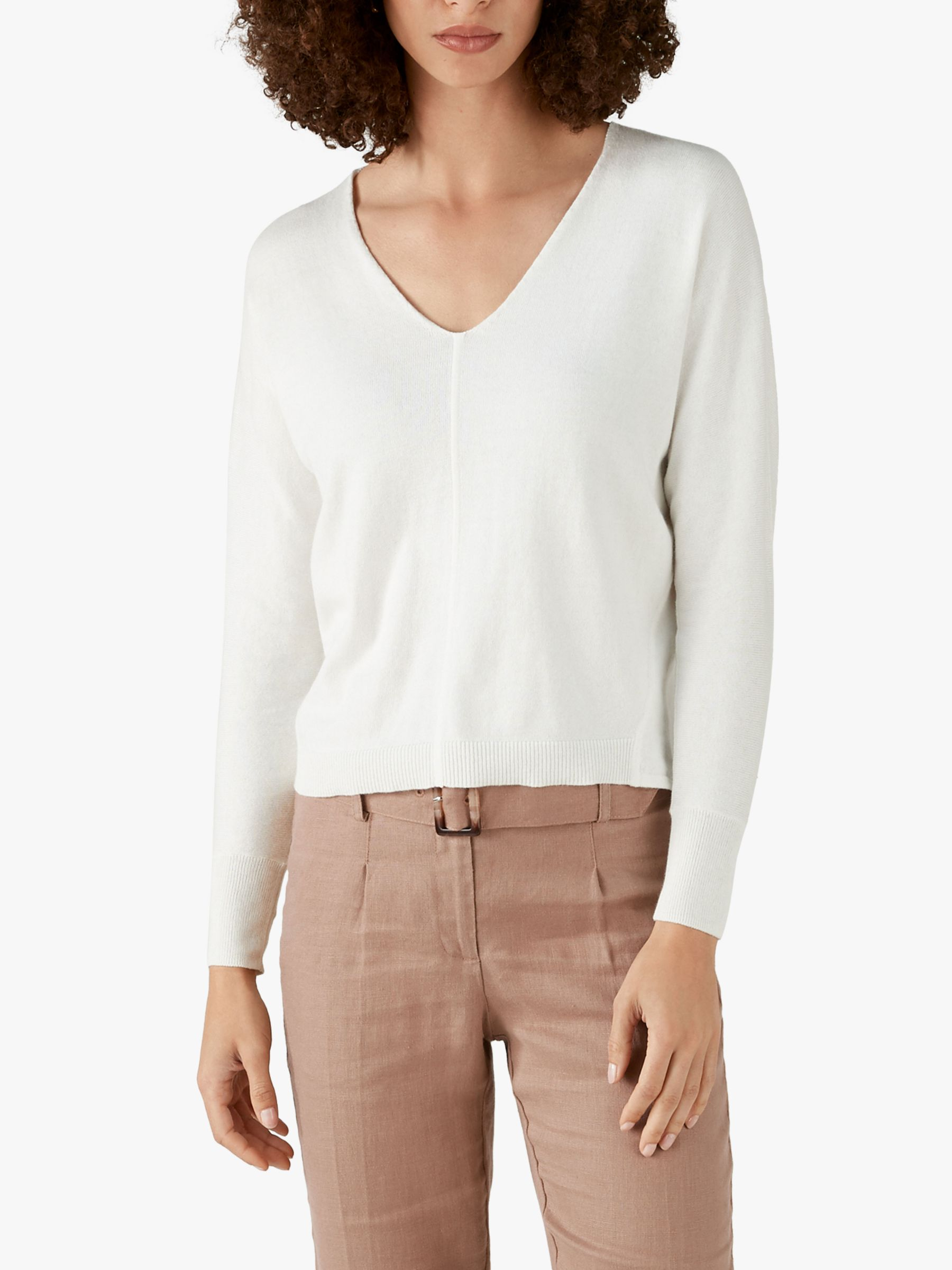 Pure Collection Pure Collection Knitted Dolman Jumper
