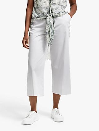 Modern Rarity Cotton Culottes, Light Grey