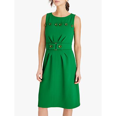 Damsel in a Dress Vali Button Midi Dress, Green