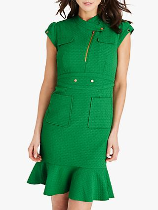 Damsel in a Dress Dashiel Textured Dress, Green