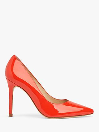 L.K.Bennett Fern Court Shoes, Bright Orange