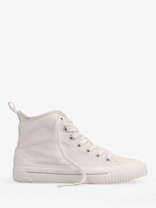 hush Skye Hi Top Trainers, Off White