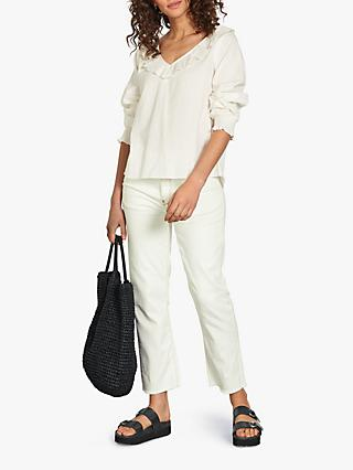 hush Sadie Blouse, White