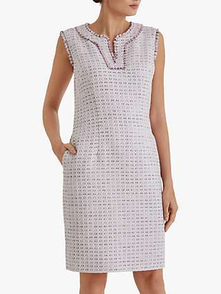 Fenn Wright Manson Dominique Dress, Blush Tweed