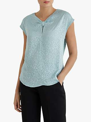 Fenn Wright Manson Eliane Top, Duck Egg