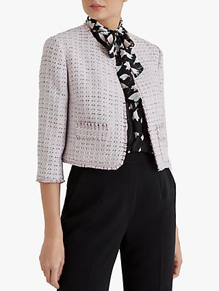 Fenn Wright Manson Dominique Jacket, Blush Tweed