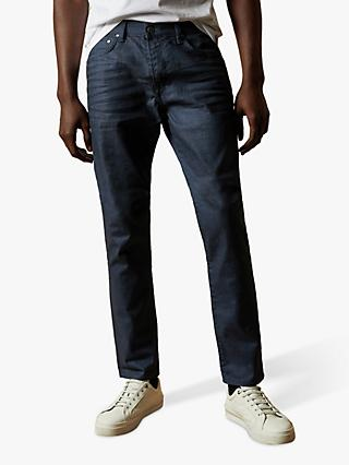 Ted Baker Tapice Tapered Leg Jeans, Navy