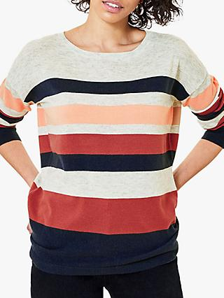 Oasis Stripe Knit Jumper, Multi