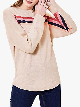 Oasis Stripe Jumper, Multi