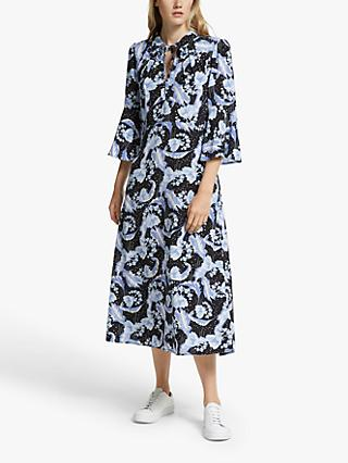 Somerset by Alice Temperley Dahlia Midi Dress, Blue
