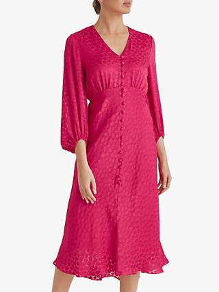 Fenn Wright Manson Petite Renee Dress, Raspberry