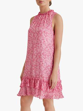 Fenn Wright Manson Petite Mirabelle Dress, Raspberry Pink