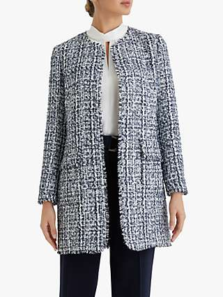 Fenn Wright Manson Petite Lucinde Coat, Ink Tweed
