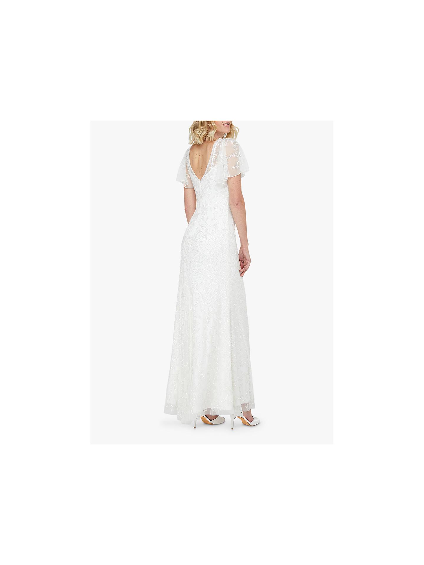 Monsoon Kitty Bridal Embellished Maxi Dress Ivory At John Lewis Partners,Long Indian Dresses For Weddings