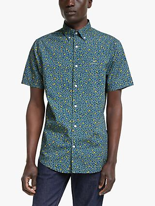 GANT Lemonade Print Short Sleeve Shirt