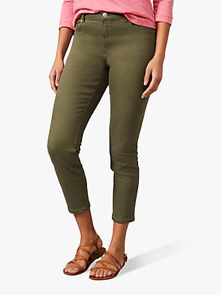 Phase Eight Pax Slim Fit Jeans, Khaki