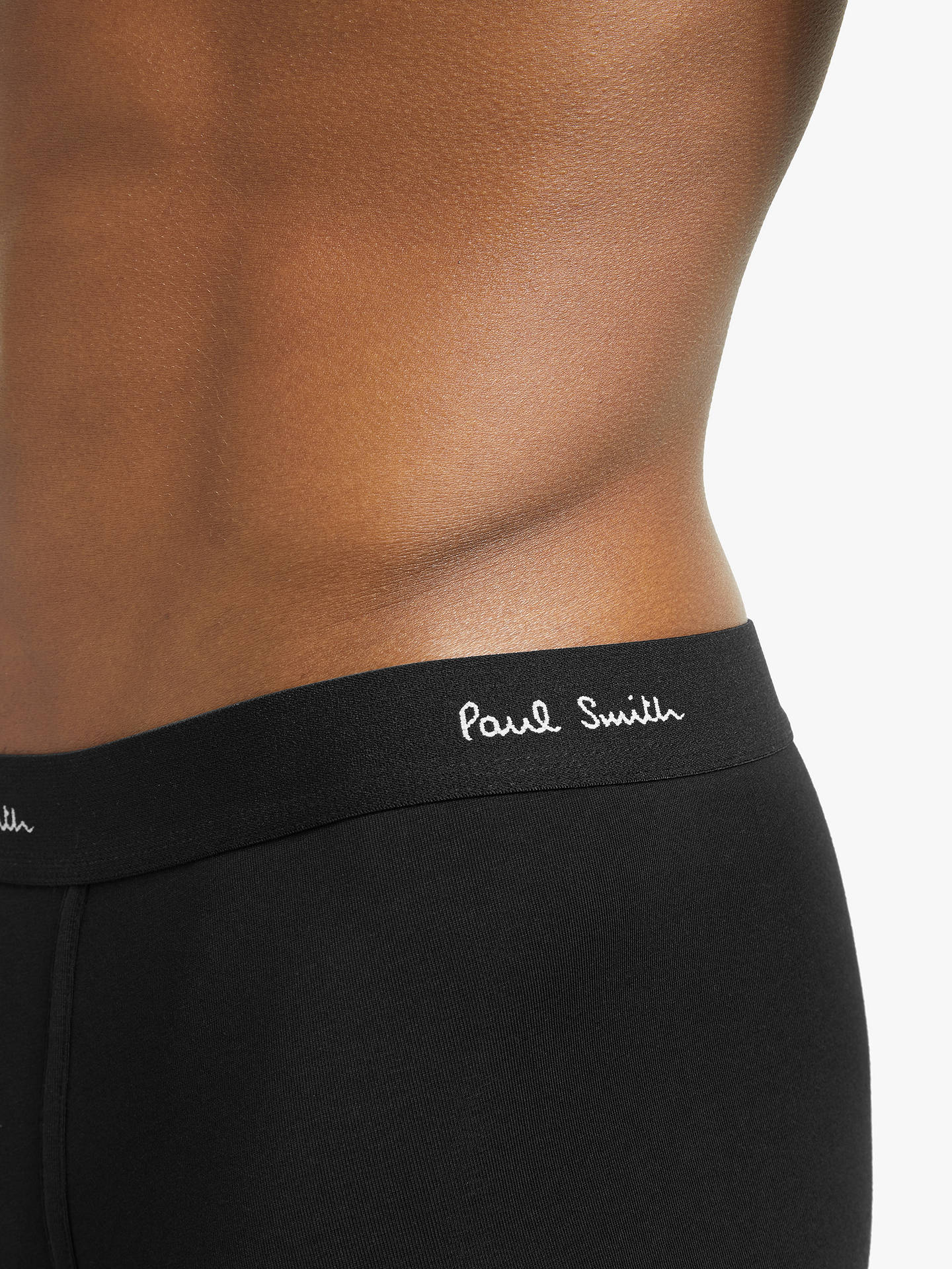 Buy Paul Smith Boxer Briefs, Pack of 3, Black, S Online at johnlewis.com