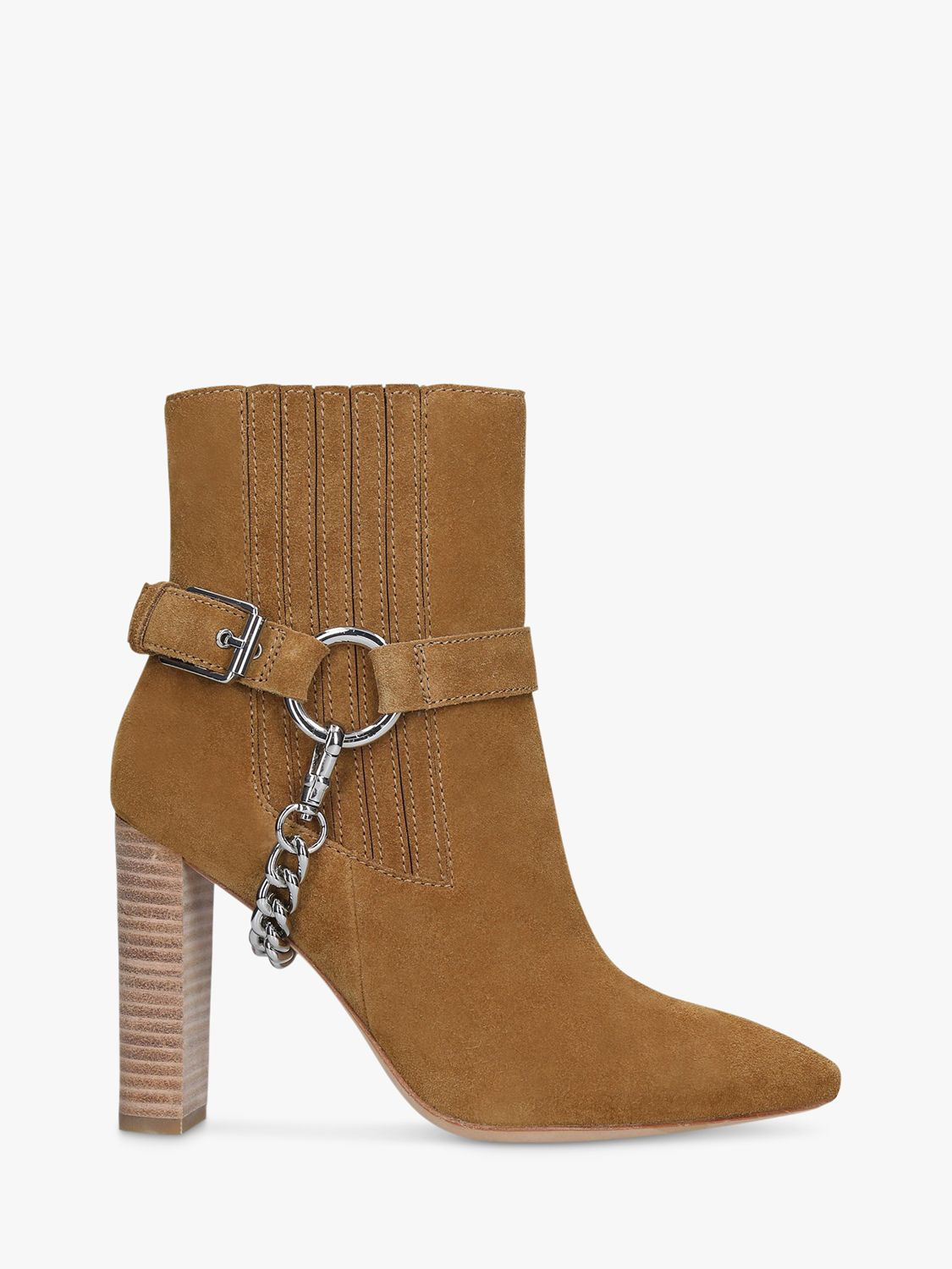 Paige Paige London Suede Ankle Boots, Brown