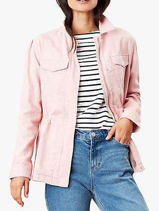 Joules Alexandra Casual Jacket, Pink