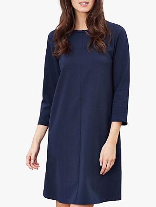 Joules Layla Cotton Jersey Dress, French Navy
