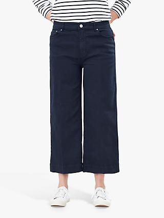 Joules Connie Wide Leg Jeans, French Navy