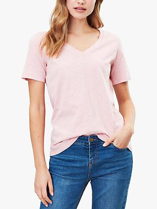 Joules Celina V-Neck Cotton T-Shirt