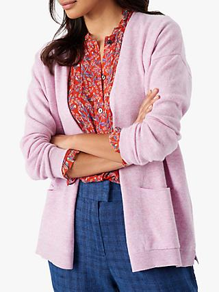 Brora Cashmere Slouchy Cardigan Jumper